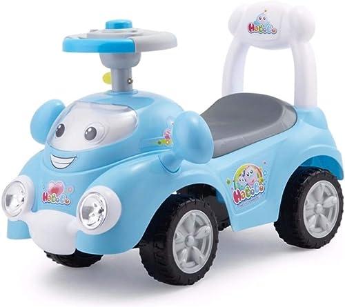Enfants Twist voiture Yo voiture avec Musique 1-3 Ans   Walker Scooter Poussette Xuan - Worth Having (Couleur   bleu)