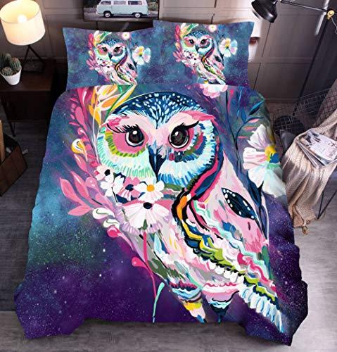 geek cook Bedding 4 piece comforter,3D Wolf Bedding Set King Size Dog Cat Printing Duvet Cover Set Queen Comforter Bed Cover Set-01_200x230cm 3Pcs