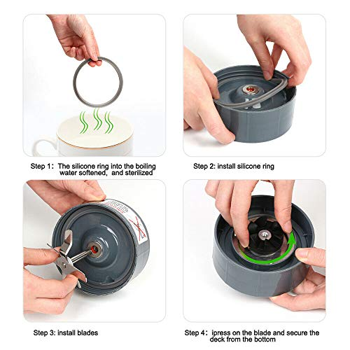 Blender Replacement Parts for Nutribullet Blender, Cups