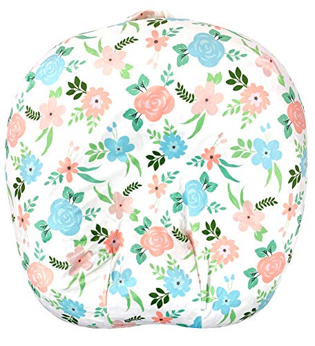 KiddyKlouds Baby Lounger Cover | Newborn Lounger Removable Cover | Highly Water Resistant Minky Fabric (LL 06)