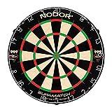 Nodor Supamatch 2 Bristle Dartboard - Black