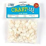 Baker Ross AG838 Flache Muscheln für Kinder zum Basteln und Dekorieren von Collagen und Anderen...