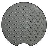 alfombra ducha antideslizante redonda