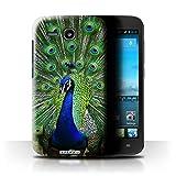 Hülle Für Huawei Ascend Y600 Wilde Tiere Pfau Design