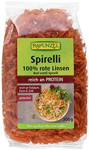 Rapunzel Rote Linsen Spirelli, 6er Pack (6 x 300 g)