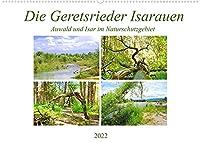 Die Geretsrieder Isarauen - Auwald und Isar im Naturschutzgebiet (Wandkalender 2022 DIN A2 quer): Das Naturschutzgebiet der Isarauen zwischen Bad Toelz und Wolfratshausen (Monatskalender, 14 Seiten )