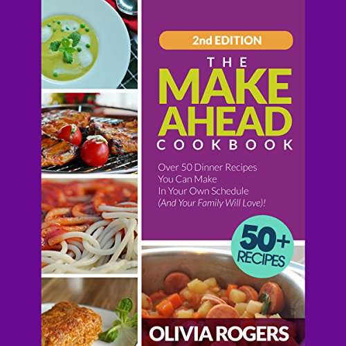 The Make-Ahead Cookbook: 2nd Edition cover art