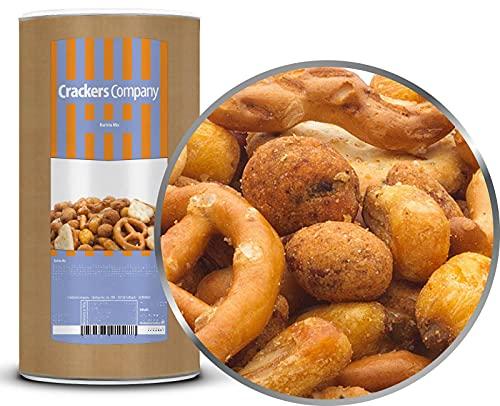 1 x 450g Barista Snackmischung vegetarisch mit Erdnüsse Salzgebäck und Cracker fettarm