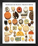 1art1 Käse Poster Kunstdruck und MDF-Rahmen - Käse Aus