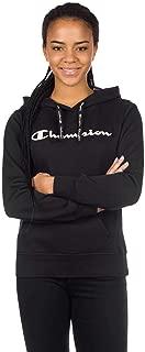 Champion 111276 KK001NBK Women's Hooded Sweatshirt, X-Large, Black