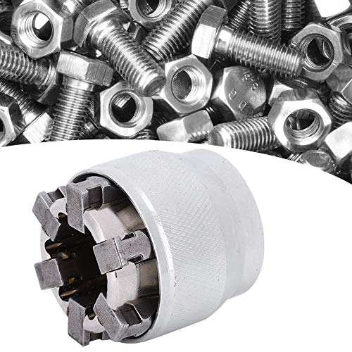 Allpassender Mehrfachbohrer-Steckschlüssel, robuster Mintiml-Schraubenschlüssel für Heimwerker, universelle Reparatur für Muttern und Schrauben zu Hause