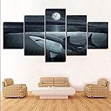 wanddekor Bild Wandkunst Dekoration 5 Stücke Meerestiere