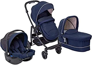 Graco Eclipse Evo Trio Kinderwagen, Babytragetasche und Autositz, Reisesystem mit..