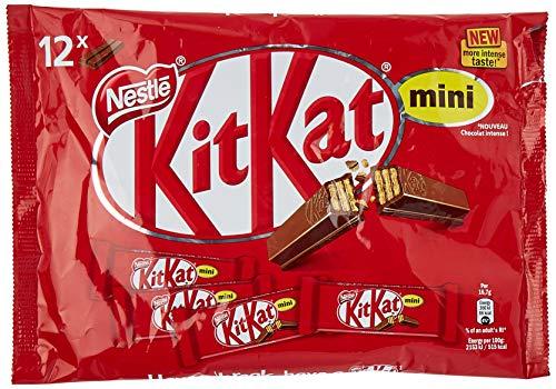 Nestlé KiKat Mini Chocolate con Leche - Barritas de chocolate - Snack...