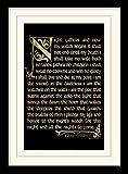 Game Of Thrones Juego de Tronos de 30 x 40 cm Temporada 3 tallar Juramento montado y impresión...