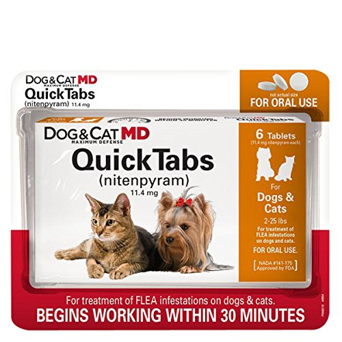 Dog & Cat MD Maximum Defense QuickTabs Nitenpyram...