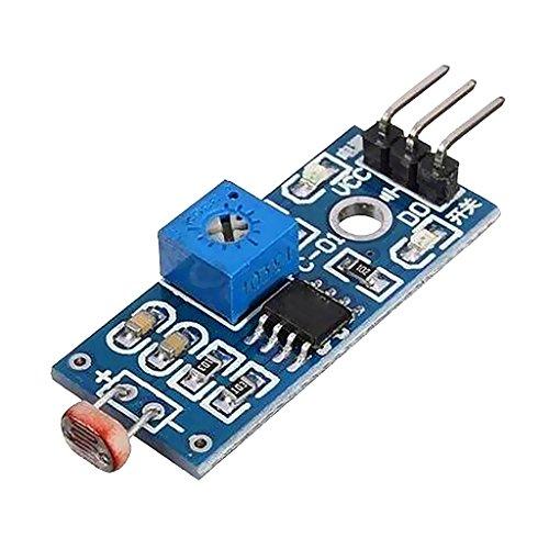 yotijar Módulo de Sensor de Resistencia Fotosensible con Comparador Lm393 para
