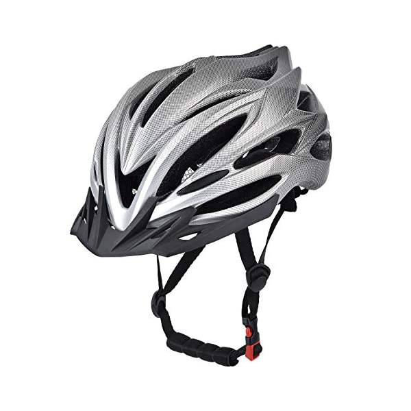 Adult Cycling helmet Yiesing Adult Bike Helmet,Road/Mountain Bicycle Cycling Helmet for Men and Women with Removable Visor,Adjustable Dail, Flow Vents and Detachable Liner [tag]