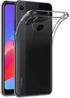 MaiJin 対応ファーウェイ Huawei Y6 2019 / Honor Play 8A (6.09インチ) 透明 耐衝撃 スマホケース TPU クリア ソフト 背面保護カバー