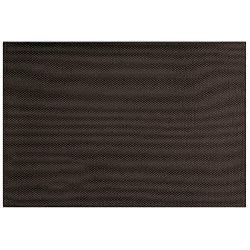 décorline set de table 32x47cm pvc silky noir
