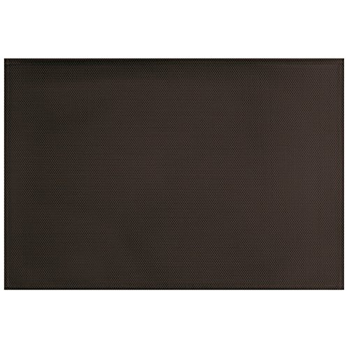décorline set de table 32x47cm pvc silky noir