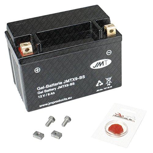 Gel-Batterie für Suzuki GSX-R 750, 1996-1998 (GR7DB), wartungsfrei, inkl. Pfand €7,50