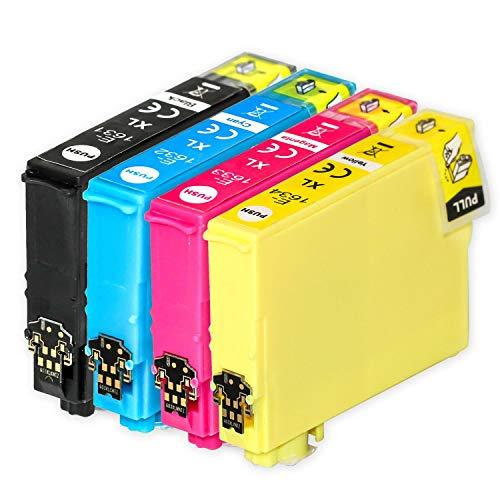 Go Inks Compatible Cartuchos de Tinta para reemplazar Epson 16 & 16XL Serie Non-OEM *Nueva Versi�n* (4 Tintas)