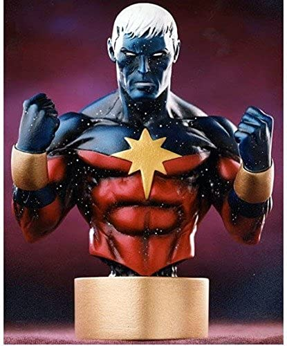 Captain Marvel (Modern Variant) Mini Bust by Bowen Designs by Bowen Designs