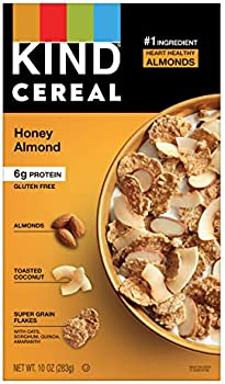 8-Count KIND 10 Oz Honey Almond Gluten Free Breakfast Cereal Box
