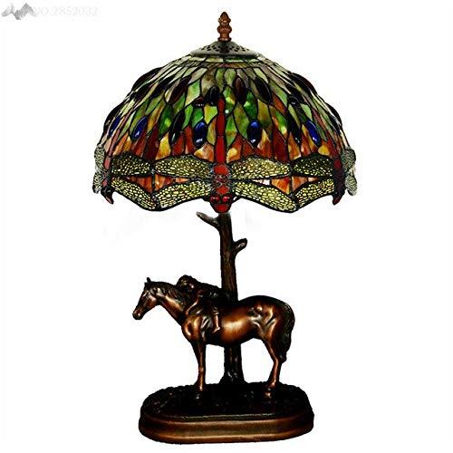 5151BuyWorld Lamp mediterrane stijl glazen tafellampen topkwaliteit paarden bureau lampen voor nachtverlichting hotel bruiloft lamp startpagina verlichting decor