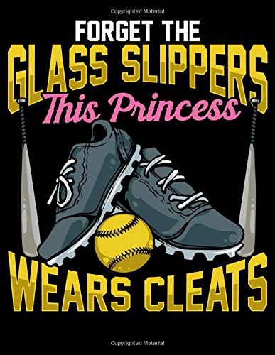 Forget The Glass Slippers This Princess Wears Cleats: Forget The Glass Slippers This Princess Wears Cleats Pun Blank Comic Book Notebook - Kid's ... 11