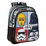 Star Wars 'Astro' - Mochila Safta Escolar Infantil, 270x100x330mm