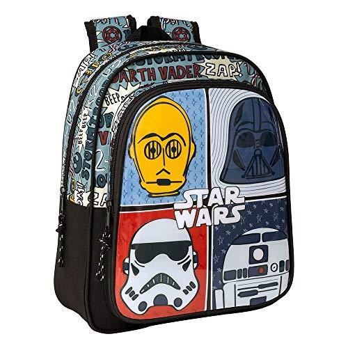 "Star Wars ""Astro"" - Mochila Safta Escolar Infantil, 270x100x330mm"