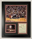 Legends Never Die Michael Jordan- Final Shot - 1998 NBA Finals Collectible | Framed Photo Collage Decor - 12'x15'