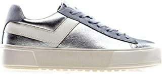 PONY Women's 758AC1 Silver Leather Sneakers
