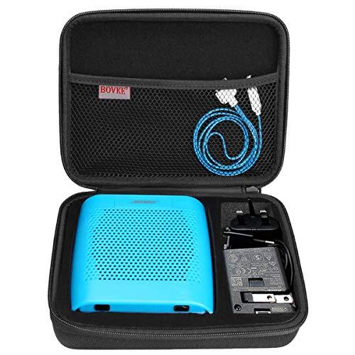 BOVKE Speaker Case for Soundlink Color II Wireless Speaker Hard EVA Shockproof Carrying Case Storage Travel Case Bag Protective Pouch Box, Black