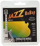 Thomastik Corde per chitarra elettrica Jazz BeBop Nickel Round Wound set BB113 Medium Ligh...