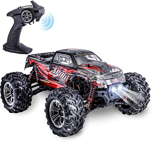 Hishertoy Remote Control Car For Adults Boys Girls Big Rc Trucks For Adults Ipx4 Waterproof Off Road Rc Cars For Adults Kids 1 16 36km H Monster Hobby Cross Country Buggy With Headlights Buy