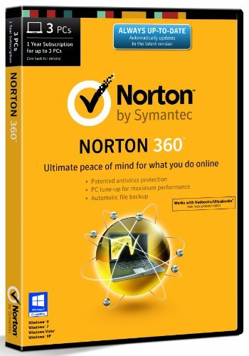 Norton 360 21.0 - 3 Computers - 1 Year Subscription [import anglais]