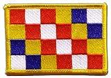 Aufnäher Patch Flagge Belgien Antwerpen - 8 x 6 cm
