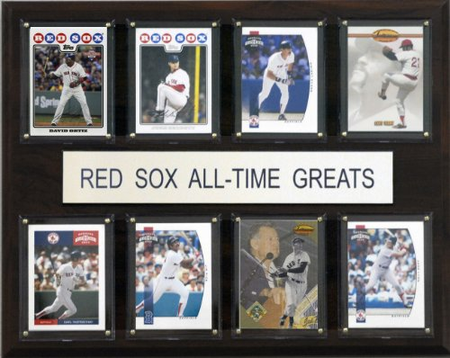 MLB Boston Red Sox All-Time Greats Plaque
