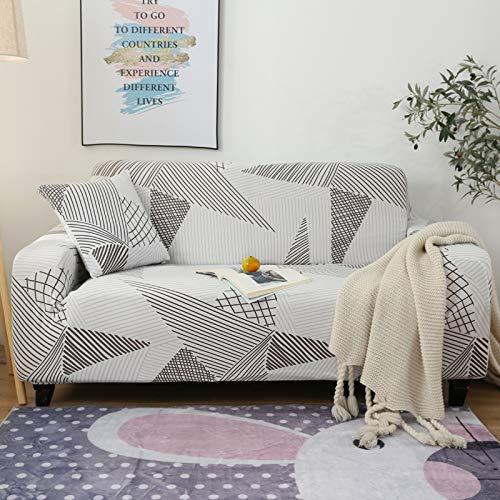 NOBCE Funda de sofá Funda de sofá elástica Funda de sofá elástica Funda de sofá seccional Proteger el sofá 145-185CM