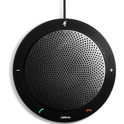 Jabra Speak 410 MS mobile USB-Konferenzlösung für Softphones/UCC, Meetings mit bis zu 4 Personen in Sekunden starten, Plug-and-play