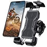 Bike Phone Mount, All-Round Adjustble Motorcycle Phone Mount, Bike Phone Holder for...