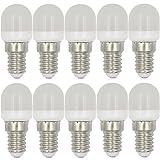 MENGS 10 Stück E14 2W LED Kühlschrank Birne Lampe AC 220-240V Warmweiß 3000K...