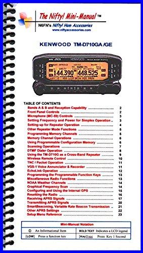 Kenwood TM-D710GA Mini-Manual (I...