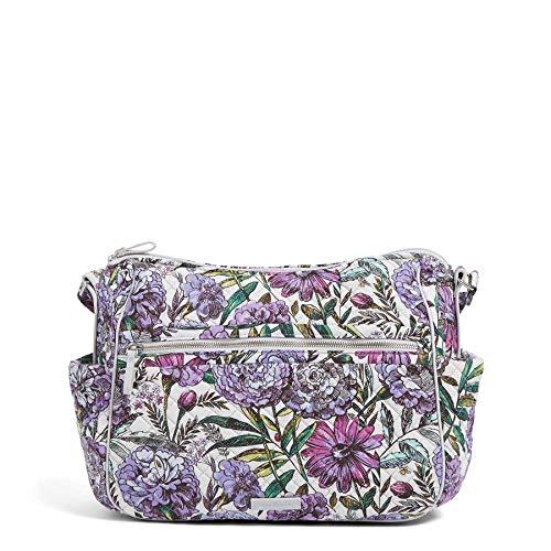 Vera Bradley Damen Iconic Large On the Go, Signature Cotton Wochenendtasche, Lavender Meadow, Einheitsgröße