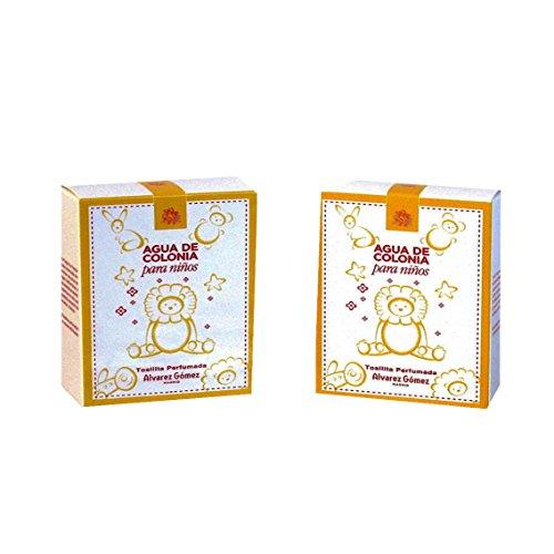Alvarez Gomez Agua de Colonia para Niños Toallitas Perfumadas, 50 Gramos, Fresca, 10 Unidades
