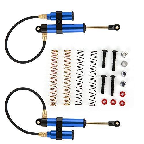 Vbest life Negative Pressure Shock Damper,108mm Negative Pressure Shock Damper Internal Springs for RGT 1/10 RC Car(Dark Blue)