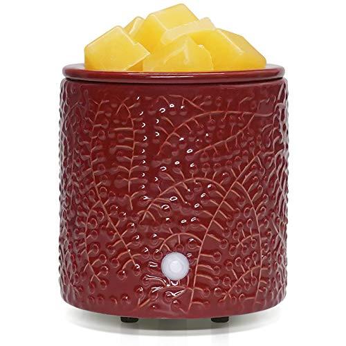 Bobolyn Wax Melt Burner Electric Oil Burner Warmer Scented Candle Fragrance Melter for Home Office Bedroom Living Room Decor - Mistletoe